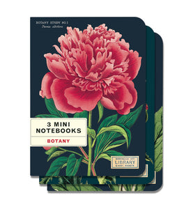 3 Mini Notebooks - Botany