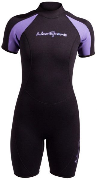 NeoSport -  Women's Neoprene Shorty Wetsuit - 2mm