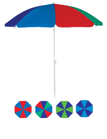 BEACH UMBRELLA 6' WITH SILVER LINING