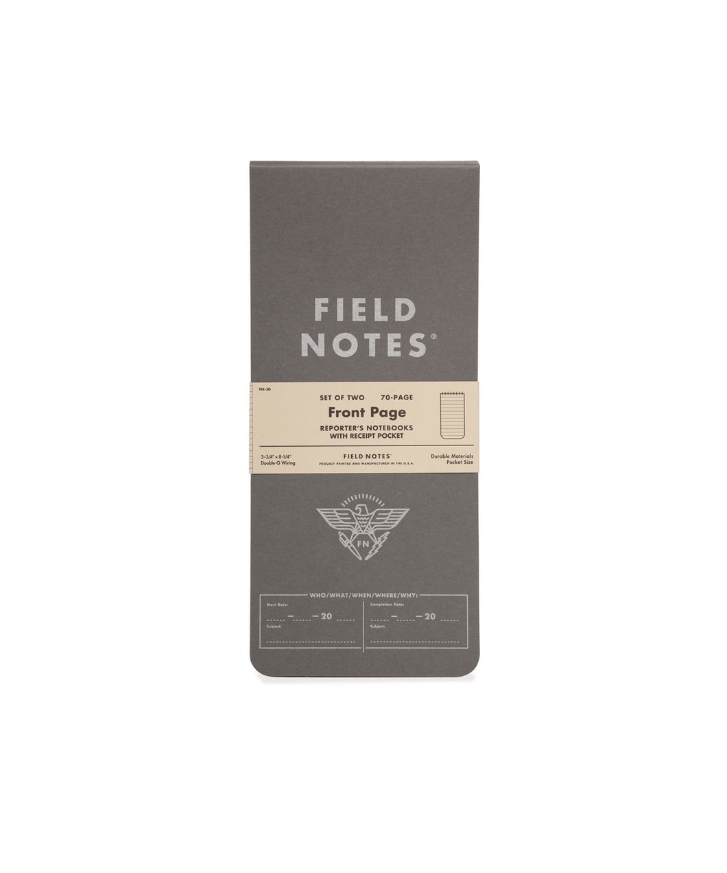 Field Notes - Front Page 2-Pack