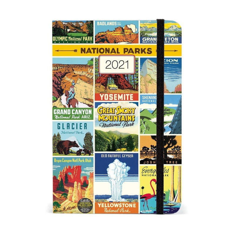 National Parks - 2021 Weekly Planner  - Cavallini & Co