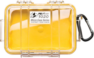 Pelican - MICRO CASE 1020 YELLOW/CLEAR