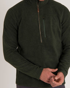Sherpa Men's Rolpa 1/2 Zip Fleece Sweater