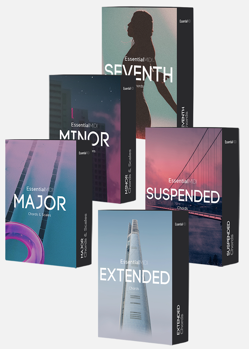 Complete MIDI Chord Pack