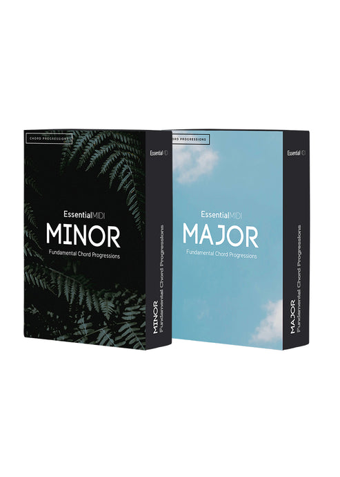 Fundamental MIDI Chord Progressions - Major + Minor Bundle