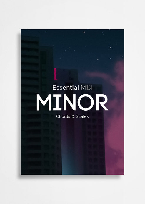 Minor Chords and Scales Midi Pack