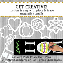 Load image into Gallery viewer, Holiday Chalkboard Stencils