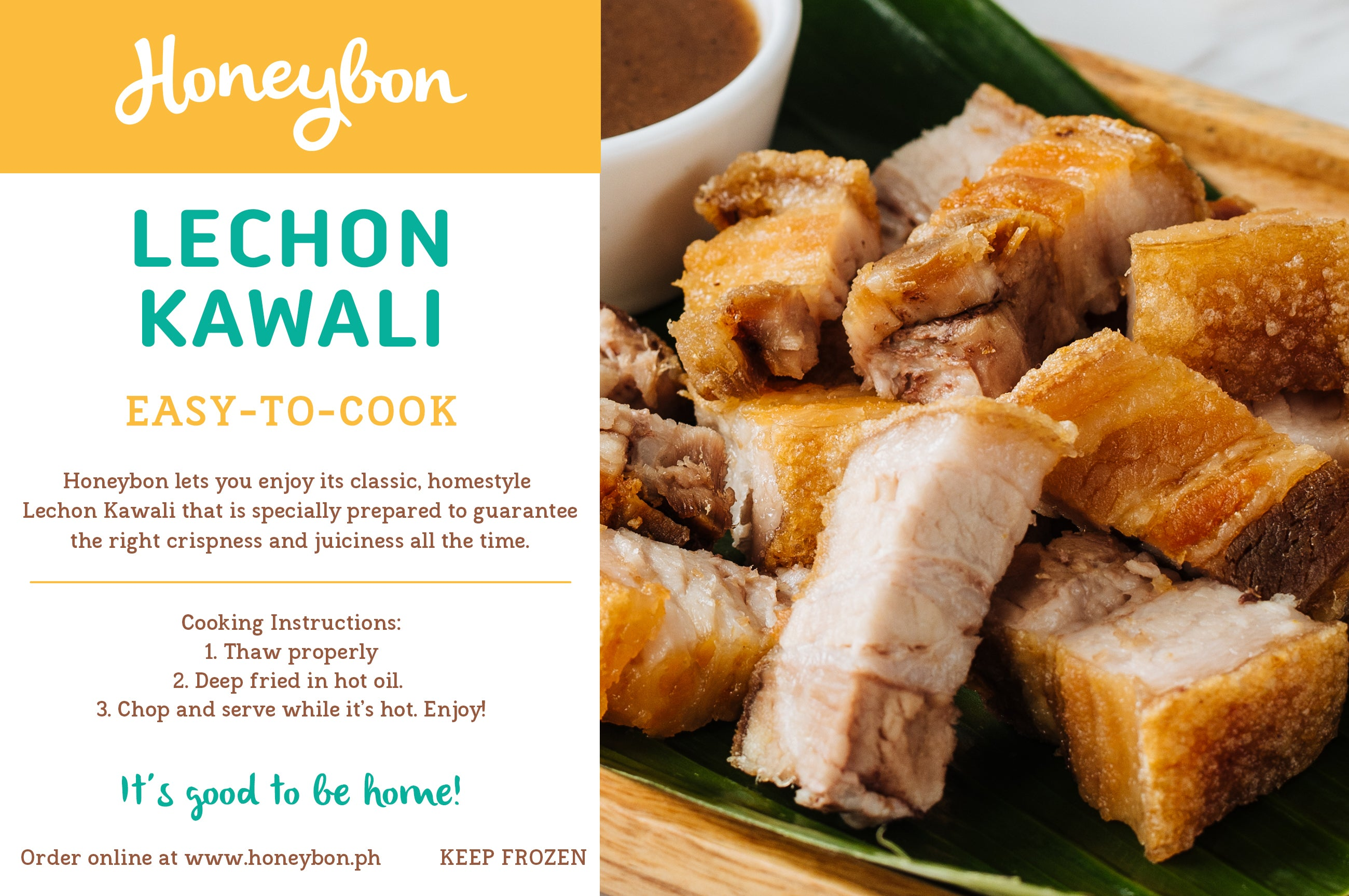 Lechon Kawali (Frozen Easy-To-Cook) 500g