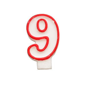 Candle number (white&red)