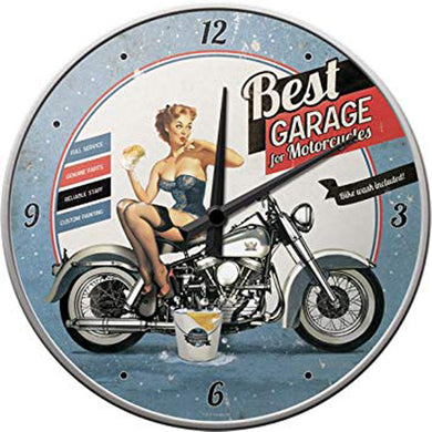 Best Garage - Wanduhr