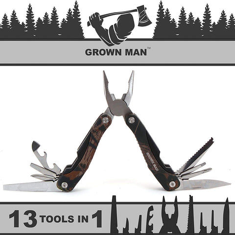Grown Man™ Survivor Multi Tool - Camo