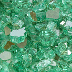 Green Reflective Tempered Fire Glass