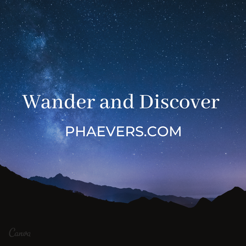 Wander and Discover