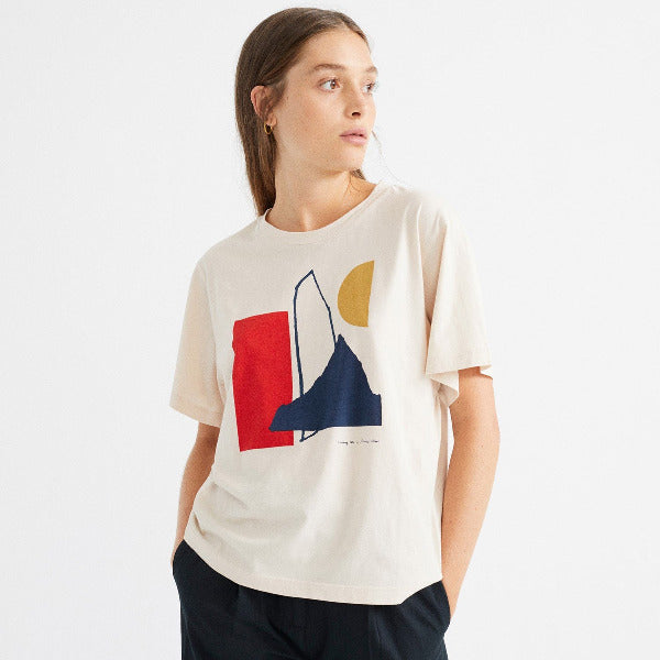 loose fit t-shirt thinking mu