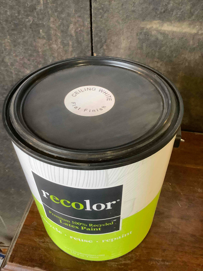 ReColor Ceiling Paint, 1gal, White