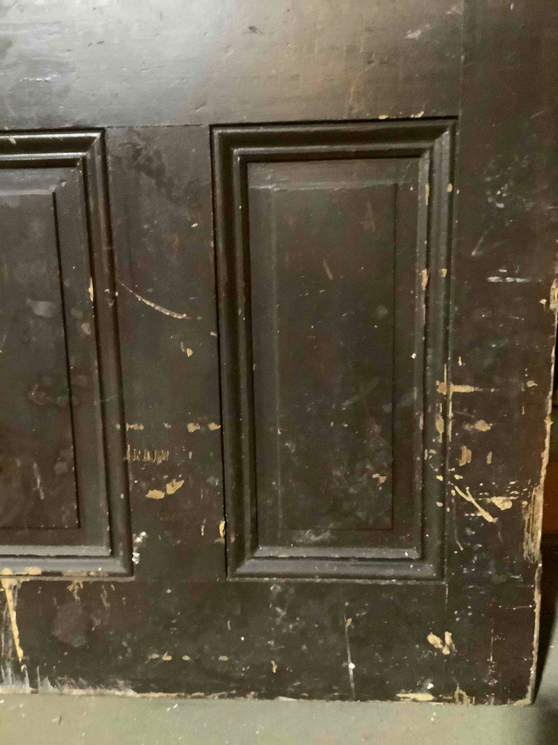 Reclaimed Solid Wood 4 Panel Interior Door 82 3/4 x 33 3/4 x 1 3/8 in.