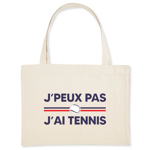 Sac - Shopping bag J'peux pas j'ai tennis