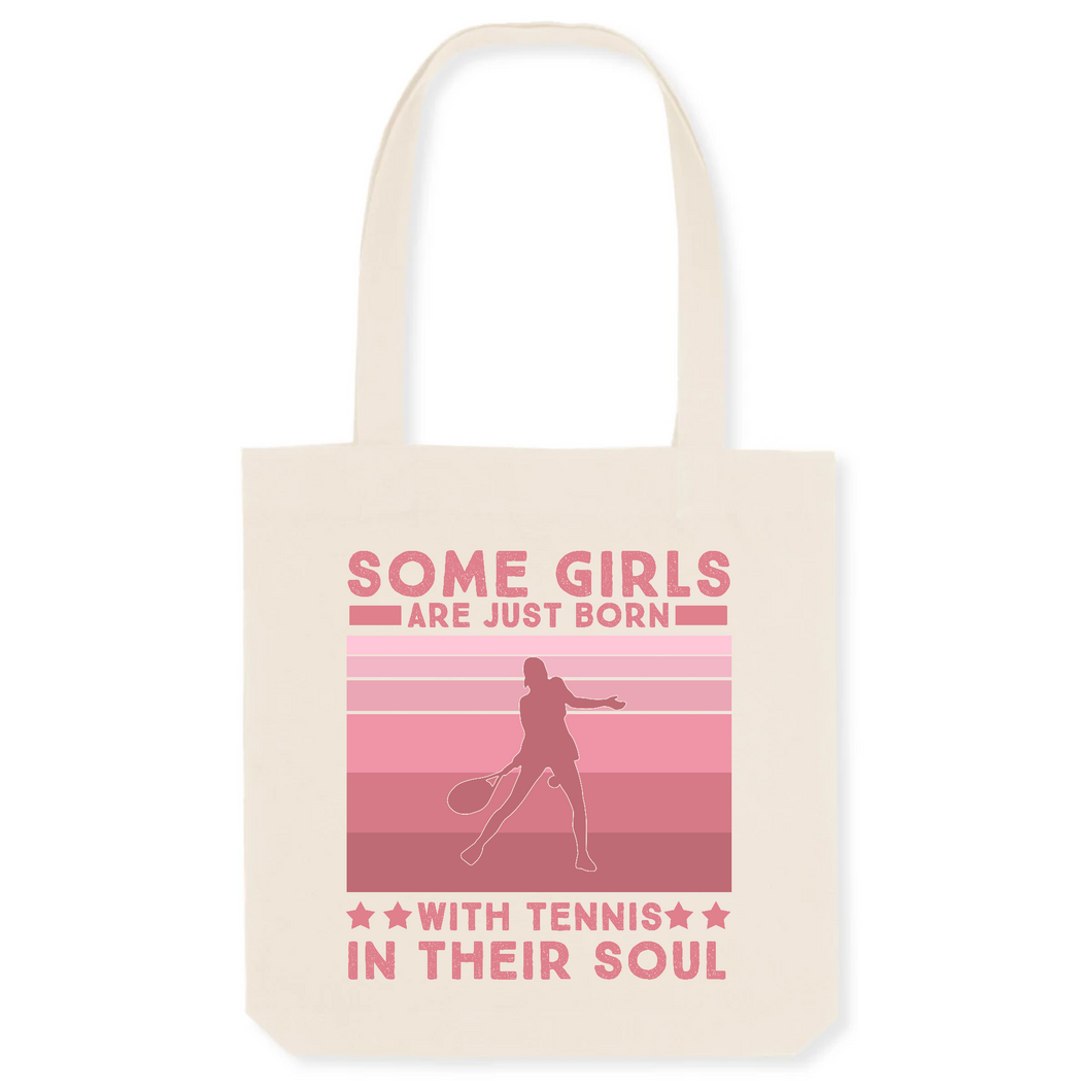 Tote Bag Tennis in their soul
