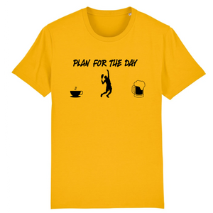 T-shirt Plan for day noir Homme