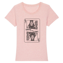 Charger l'image dans la galerie, T-shirt carte Queen of the court Femme