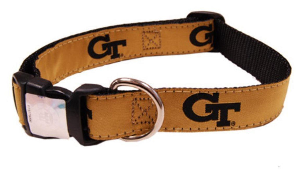 NCAA Dog Collar Georgia Tech Yellow Jackets - Uptown Pups