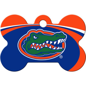 Florida Gators NCAA Pet ID Tag - Large Bone