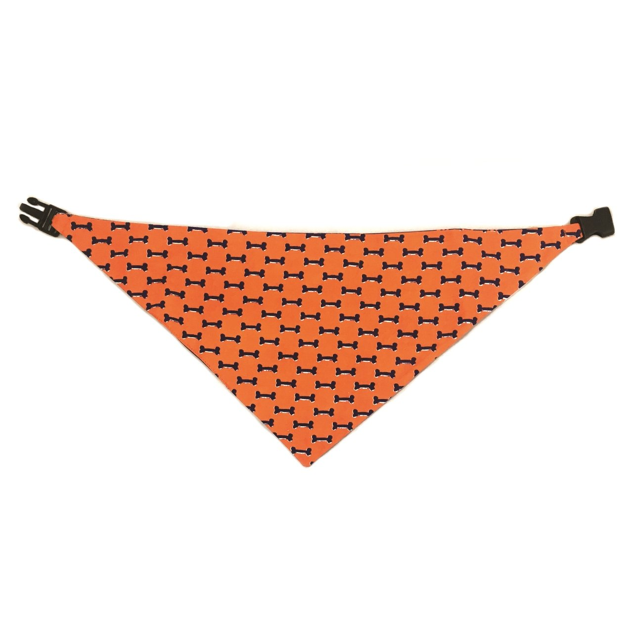 Uptown Pups Reversible Bandana - Blue & Orange - Uptown Pups