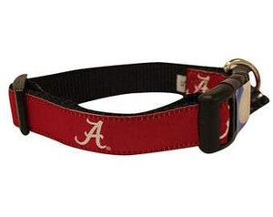 NCAA Dog Collar University of Alabama Crimson Tide - Uptown Pups