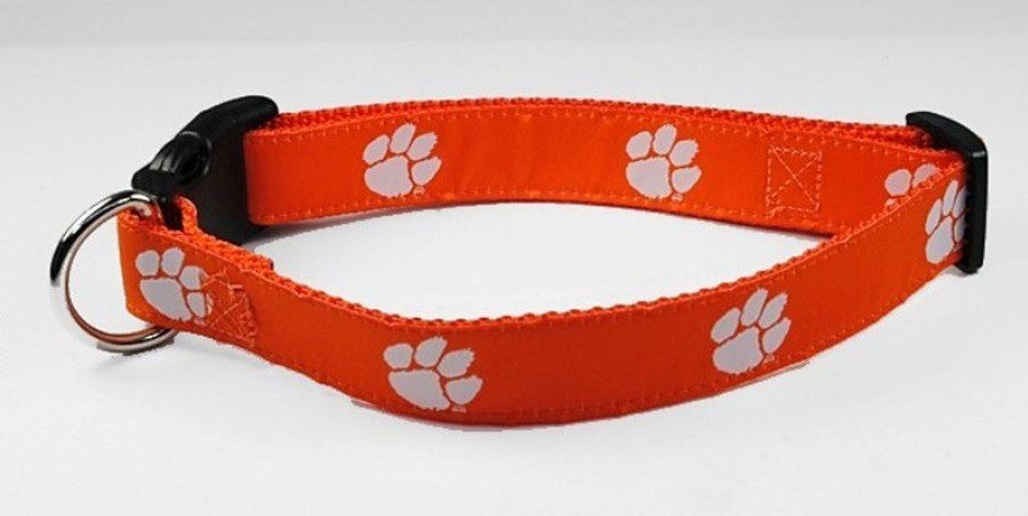 NCAA Dog Collar Clemson Tigers - Uptown Pups
