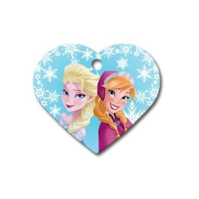 Disney Frozen Pet ID Tag - Large Heart - Uptown Pups