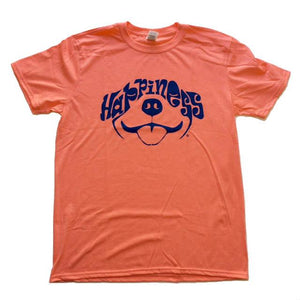 Dog N Frog Happiness Heather Orange T-Shirt - Uptown Pups