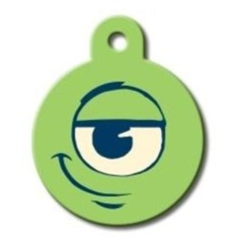 Disney Monter's Inc Pet ID Tag Large Circle - Uptown Pups