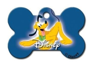 Disney Pluto Pet ID Tag - Large Bone - Uptown Pups