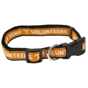 Pets First Tennessee Volunteers NCAA Dog Collar, Medium