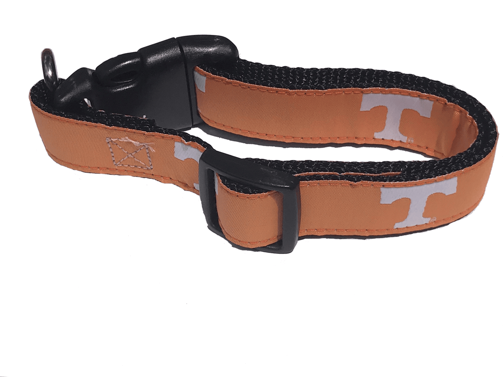 NCAA Dog Collar University of Tennessee Volunteers - Uptown Pups