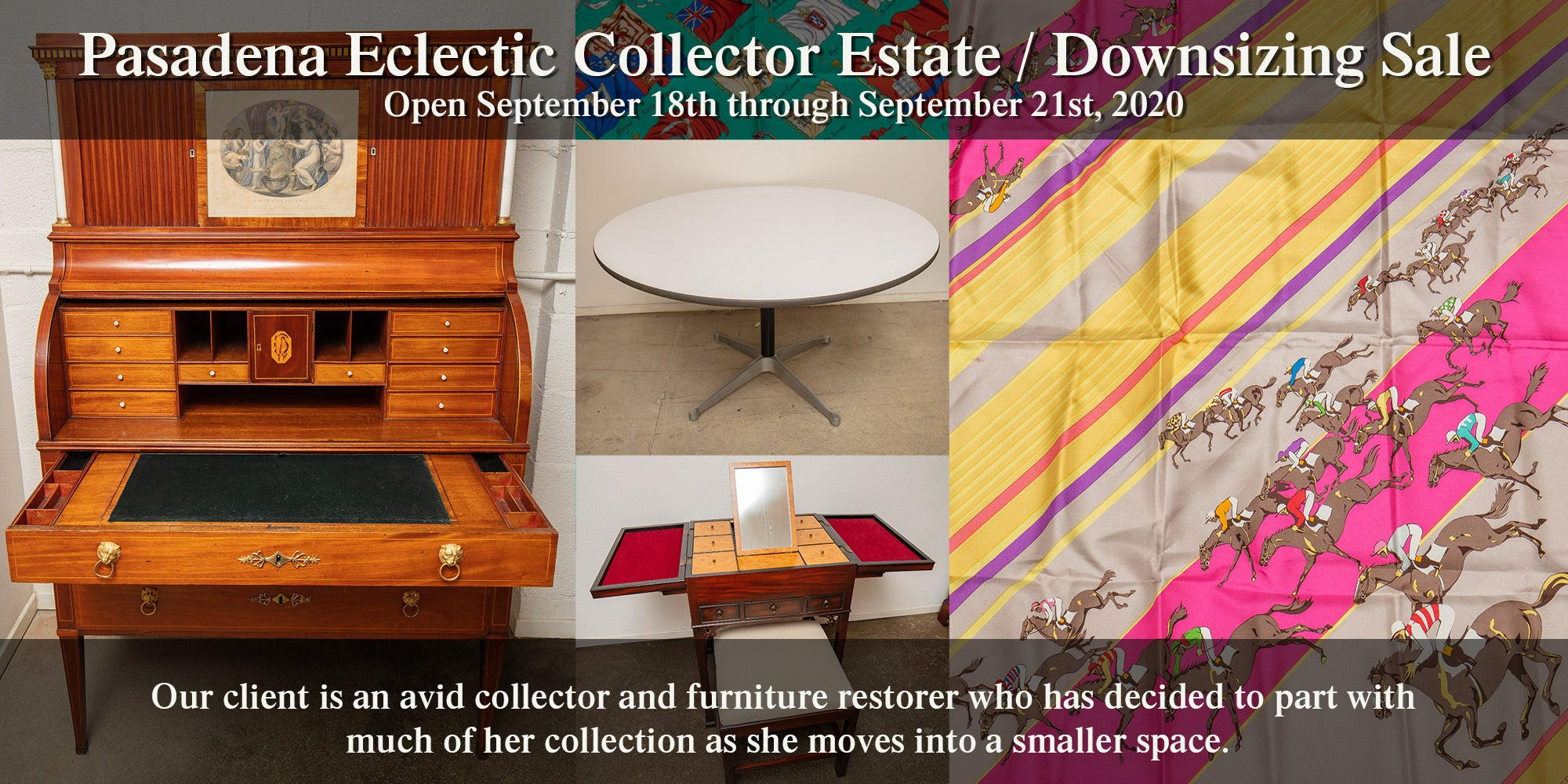Pasadena Eclectic Collector Estate / Downsizing Sale - September 2020