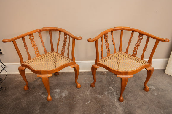 Pair of Sri Lankan Corner Chair for Project