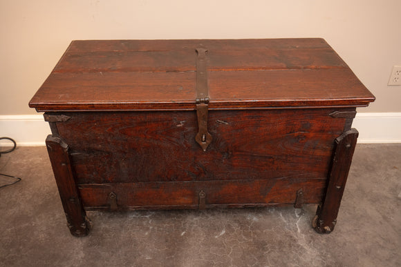 Indian Large Teak Goa Trunk