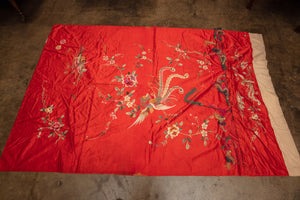 Chinese Embroidered Tablecloth