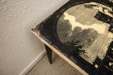 Side Table with Roman Colosseum Scene