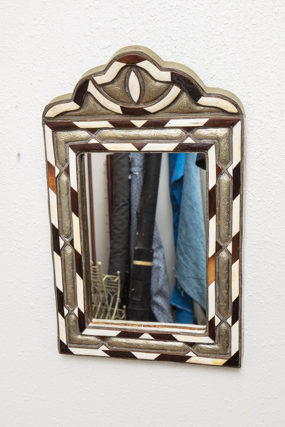 Inlayed Moroccan Mirror