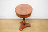 Louis XVI French Style Side Table with Inlay
