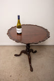 Antique Folding Top Pie Table 19th Century
