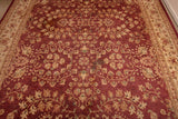 Large Red Field Rug