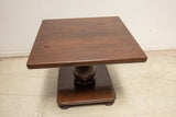 Small Square Wood Side Table