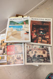 Architectural Digest Magazines Lot of 30 #1