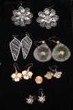 Costume Earring Lot of 6