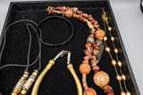 Costume Jewelry Lot of 4 Necklaces and 1 Bracelet