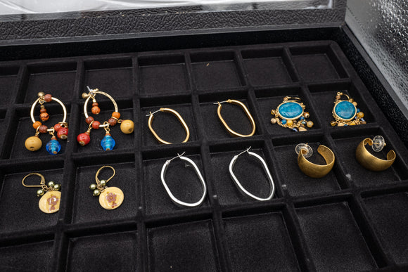 Costume Earrings Lot of 6