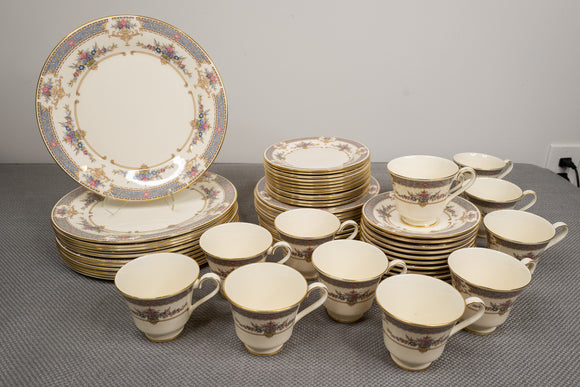 "Minton ""Persian Rose"" Service for 12 - 60 Piece Dinnerware Set"